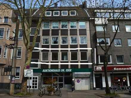 Köln-Lindenthalgürtel: Büro-Kanzlei 1.Etage mit 153m² Dachterrasse 3-4 Räume 2 WC, Teeküche usw.