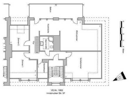 Dachgeschosswohnung in Bremen Findorff zu vermieten!!