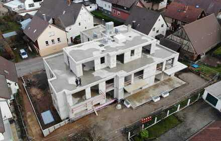 4-Zimmer-Neubauwohnung im Ortskern von Spielberg, mit Balkon und Aufzug