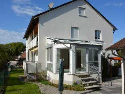 Ansprechende 3-Zimmer-Erdgeschosswohnung mit Balkon und EBK in Burgstetten