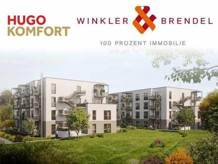 HUGO KOMFORT für Kapitalanleger und Eigennutzer barrierefr. 1-Zi. Whg. in Form des Betreuten Wohnens