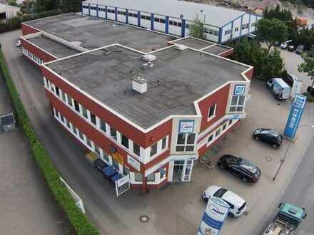 Zum 10,2 fachen IST: Verwaltungsgebäude, Hallenfläche und Wohnung als Anlage oder zur Eigennutzung