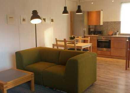 Vollmöbelierte 1-Zimmer-Einliegerwohnung mit Einbauküche am Ortsrand Unterensingen