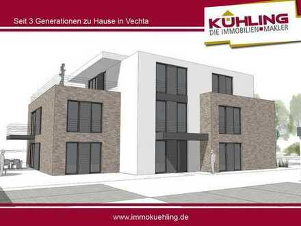 Modern ausgestattete, möblierte 4-Zimmer-Wohnung mit Balkon