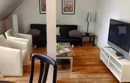 drei Zimmer Wohnung;möbliert;gerne langfristig zu vermieten