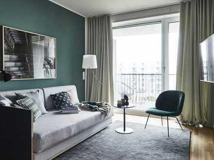 Brandneues möbliertes Studio-Apartment mit Garten im Herzen von Berlin