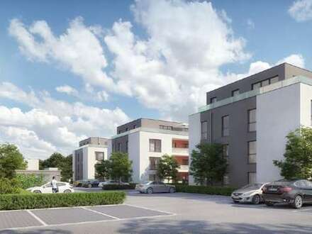 Neubau-Erstbezug! - 3 Zimmer-Wohnung mit Topausstattung