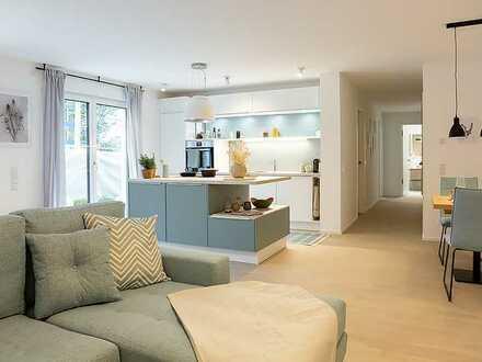 Für Gartenfans: Ihre hübsche 3 Zi-Süd-Garten-Wohnung mit Tageslichtbad & Gäste-WC