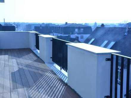 Zu vermieten: Sehr schöne 2-Zi.-Whg. mit Blick auf die Dächer von Frankfurt!