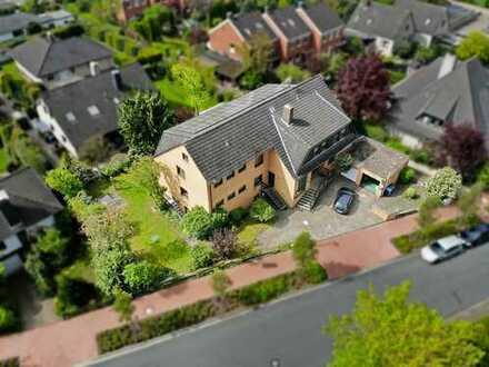 Großes Zweifamilienhaus in beliebter Lage in Wunstorf Luthe, mit Gewerbeanteil und Doppelgarage