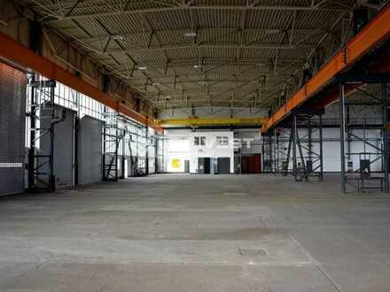 Werkstatt / Produktions-und Lagerhalle mit großer Freifläche in Leipzig