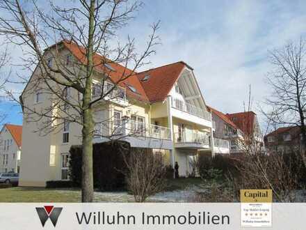 Kleine Wohnung mit Terrasse und PKW-Stellplatz