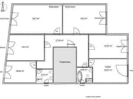 Geräumige und helle 5-Zimmer-Wohnung mit gehobener Innenausstattung in Hildesheim (frisch renoviert)