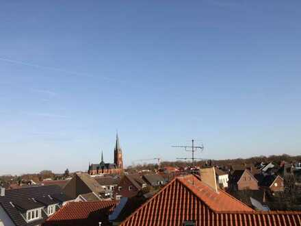 Hochwertige Dachgeschosswohnung über den Dächern von Rhede