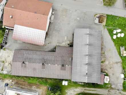 (Lager-) Halle mit Außenfläche für vielseitige Nutzungsmöglichkeiten