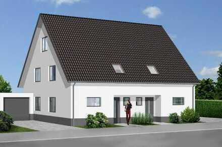 Neubau von 3 Doppelhäusern mit großen Grundstücken in Bielefeld-Ummeln