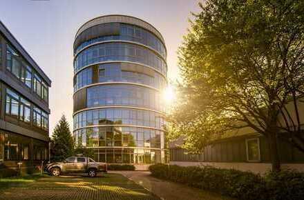 "VERMIETET: Seltene Gelegenheit / 6. OG im Glasturm - provisionsfrei im ""Büropark Ottobrunn""!"
