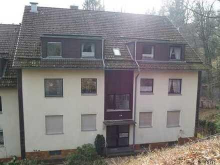 Gemütliche 2 Zimmerwohnung mit Einbauküchenzeile, Wannenbad und Südbalkon