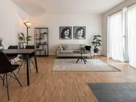 *Lichtdurchflutetes und helles Wohnvergnügen* 2,5-Raum-Wohnung mit Ankleide und Badezimmer en Suite