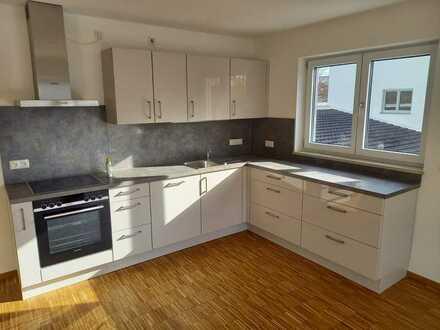 Erstbezug: freundliche 4-Zimmer-Wohnung mit EBK und Balkon in Bayern - Babenhausen