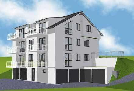 Neubauprojekt Südhanglage - 6-Familienhaus - 2 -und 3-Zi.-Whg.