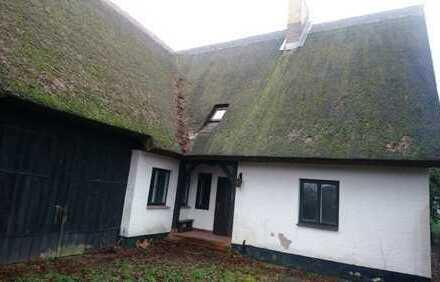 Sanierungsbedürftiges Holsteiner-Haus mit großer Scheune zu verkaufen