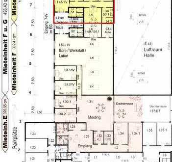 Moderne Bürogebäude, Büroflächen, Hanau Gewerbegebiet-Nord ca. 102 m²