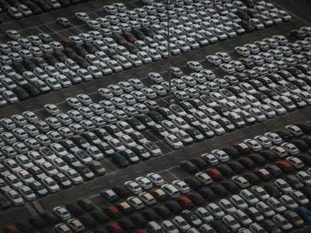 Außenlagerfläche, PKW-Stellplätze, ca. 5.000 qm, bei Nagold, günstig zu vermieten
