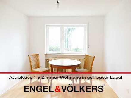Attraktive Singlewohnung (1 Zimmer + 2 Durchgangszimmer) in gefragter Lage!