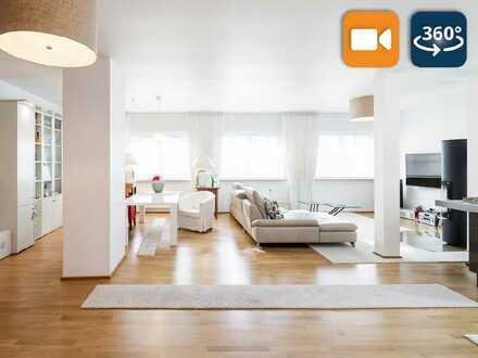 Wohnen 203 m²   Gewerbe 189 m²: Hochwertiges Anwesen in Rumpenheim