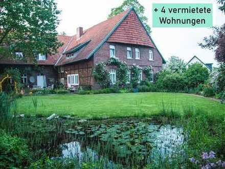 Stilvolles Anwesen für die Familie incl. 4 Mietwohnungen zur Finanzierung