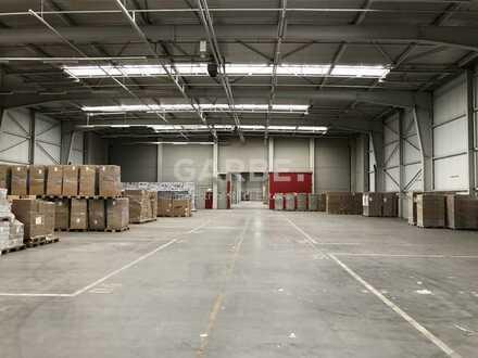 Direkt vom Eigentümer, provisionsfrei: ca. 27.200 m² Logistik-/ Lagerhalle