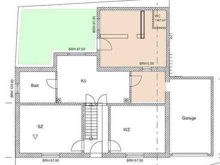 Ansprechende, renovierte 3-Zimmer-Wohnung zur Miete in Allenfeld