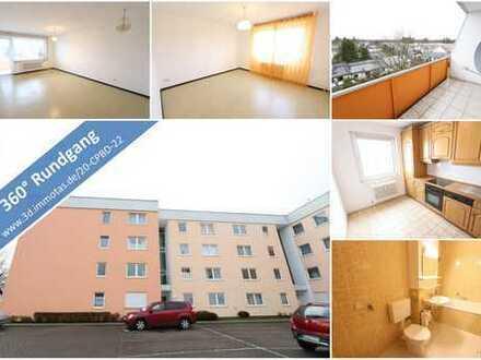 KAPITALANLAGE oder EIGENNUTZUNG - Gepflegte Eigentumswohnung mit Balkon und Garage - im Leerstand