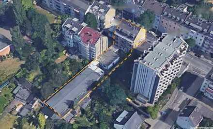 Düsseldorf-Rath: Mehrfamilienhaus + Gewerbehalle mit Erweiterungspotential