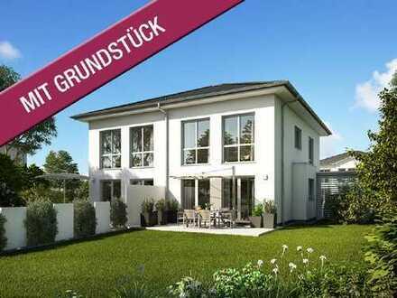 Das mondäne Doppelhaus für die ganze Familie - Wohnen am Fuße des Schönfelder Hochlandes