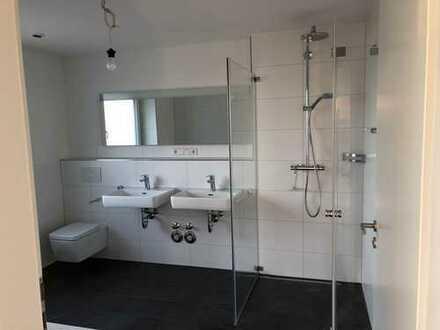 Neuwertige 4-Zimmer-Erdgeschosswohnung mit Balkon und Einbauküche in Ditzingen-Schöckingen