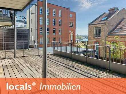 Barrierefrei: Hochwertige 2-Zimmer-Wohnung mit Sonnenterrasse und Havelblick!