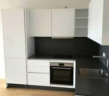 Frisch sanierte 2-Zimmer-Wohnung mit Einbauküche und Balkon