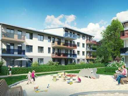 SONNIGE 3-Zi.-Wohnung mit Westterrasse und Garten. Neubau, grün, elbnah.