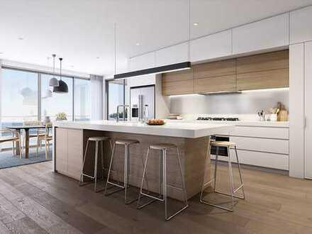 Wie geschaffen für Familien: Neubau, 4 Zimmer, großer Wohn- und Kochbereich, Balkon und vieles mehr