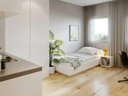 Für Studenten und medizinisches Fach- und Pflegepersonal: Modernes Apartment mit Terrasse