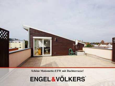 Schöne Maisonette-ETW mit Dachterrasse