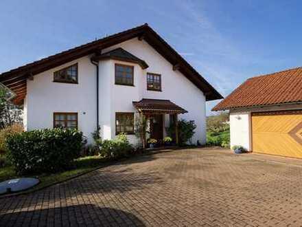 Idyllisches gelegenes Haus mit Panoramablick unweit von Heidelberg