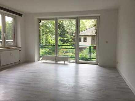 2 Zimmerwohnung Hamburg Farmsen Blick ins Grüne mit schönem Balkon