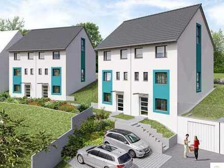 Familienfreundliche Doppelhaushälfte 158 m² Wohnfläche mit Garten in Esslingen. Baubeginn in Kürze!