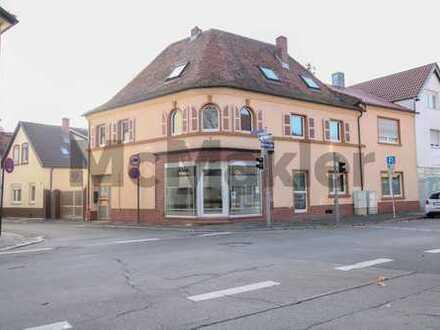 Für Singles oder Kapitalanleger: Vermietetes 1-Zi.-Apartment zentral in LU-Oggersheim