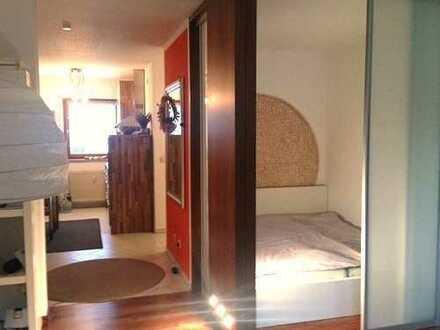 Pendler, Referendare, Ärzte: Niveauvolles, komplett eingerichtetes Apartment zu vermieten