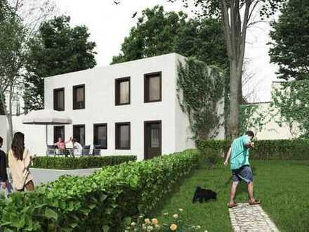 Einfamilienhaus im Hinterhof / Neubau / Fußbodenh. / Terrasse / MIETINVEST / Eigenkapital notw.