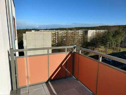 NEUES JAHR NEUES GLÜCK: Balkon direkt an der Dresdner Heide